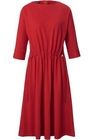 Fadenmeister Berlin Women Casual Dresses - Jersey dress 3/4-length slit sleeves size: 12