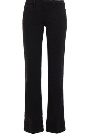 Bash Women Wide Leg Trousers - Woman Ross Cotton-blend Twill Bootcut Pants Size 0