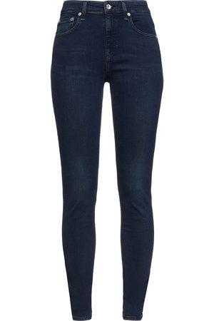 RAG&BONE Woman Cate Mid-rise Skinny Jeans Dark Denim Size 23