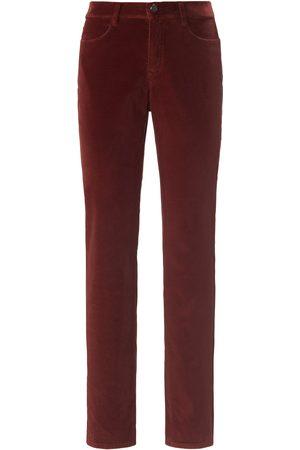 Brax Feminine fit velvet trousers design Carola size: 10s