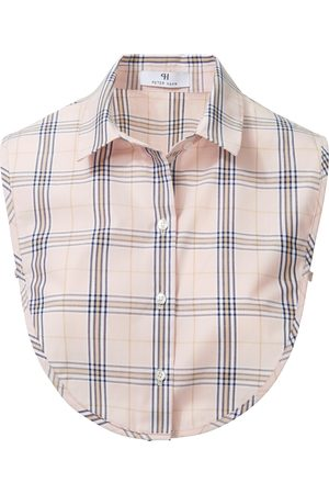 Peter Hahn Women Scarves - Blouse collar in 100% cotton pale size: 001