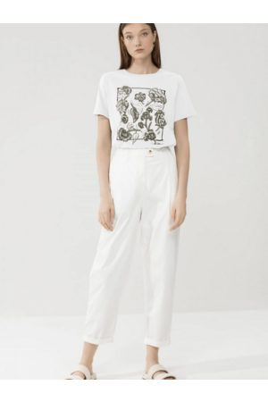 Luisa Cerano T Shirt With Floral Print 338732/7663 0100