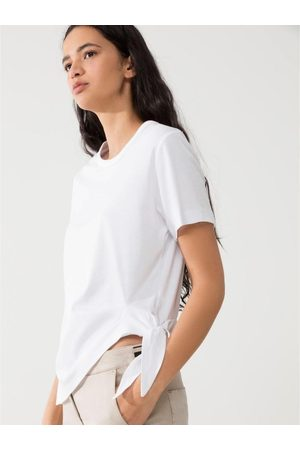 Luisa Cerano T Shirt with Tie Side 338734/7472 0100