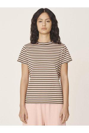 YMC Stripe Day T-Shirt in Multi