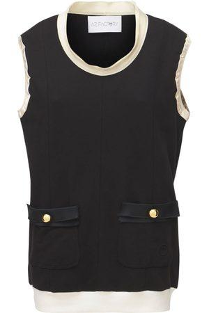 AZ FACTORY Organic Cotton Blend Mini Dress