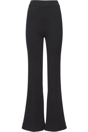 AZ FACTORY Women Wide Leg Trousers - Organic Cotton Flared Pants