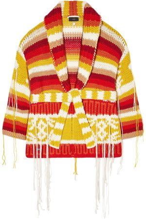 Alanui Colors Of South America Wool Cardigan