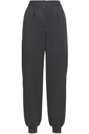 Stella McCartney Wool Tailoring Wide Leg Pants