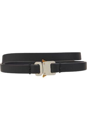1017 ALYX 9SM Women Belts - Mini Leather Buckle Belt