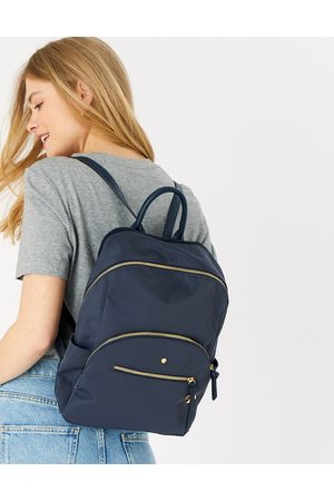Accessorize Suitcases - Nell Nylon Backpack Blue