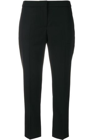 Alexander McQueen Women Trousers - Cropped tailored trousers