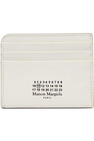 Maison Margiela Women Handbags - Four Stitches Logo-print Leather Cardholder - Womens