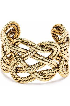 Aurelie Bidermann Brandebourg wide cuff bracelet