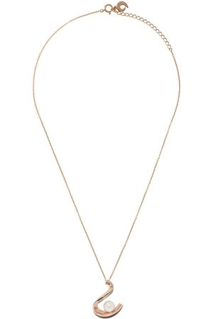 Tasaki 18kt rose gold Cascade Akoya pearl pendant