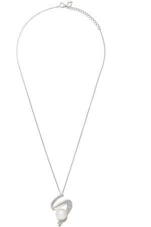 Tasaki 18kt white gold Cascade South Sea pearl and diamond pendant