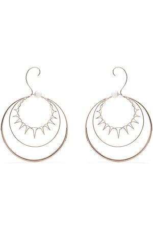 TASAKI Women Earrings - 18kt rose gold Nacreous South Sea pearl earrings