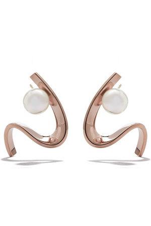 Tasaki 18kt rose gold Cascade Akoya pearl earrings