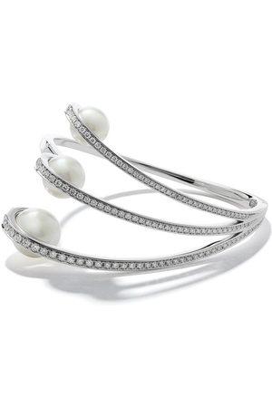 TASAKI 18kt white gold Aurora South Sea pearl and diamond bracelet