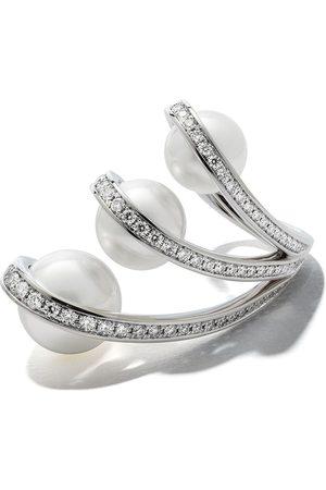 TASAKI 18kt white gold Aurora South Sea pearl and diamond ring