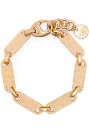 PORTS 1961 Engraved logo bracelet