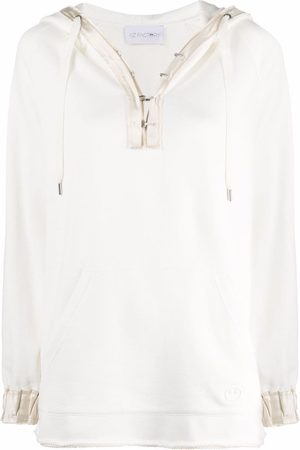 AZ FACTORY Hook-fastening oversized hoodie
