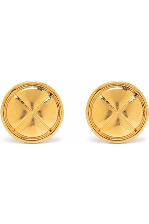 Chanel Pre-Owned 1980s diamond-quilted earrings