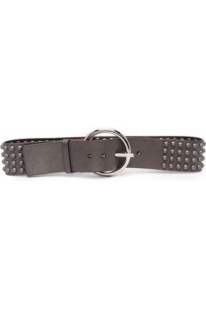 Gianfranco Ferré 2000s stud-embellished leather belt