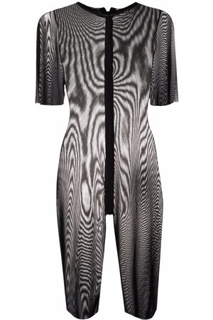 Alchemy Cropped sheer jumpsuit