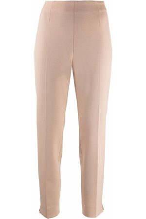PESERICO SIGN Cropped tailored trousers - Neutrals