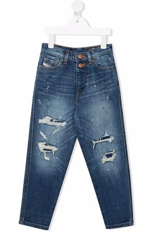 Diesel Mid-rise straight jeans