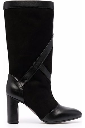 Chie Mihara Eliza suede thigh-length boots