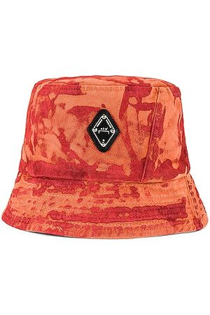 A-cold-wall* Diamond Bucket Hat in Rust Oxide