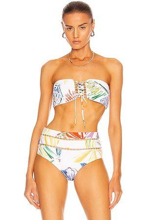 CHARO RUIZ IBIZA Cecilia Bikini Top in Print