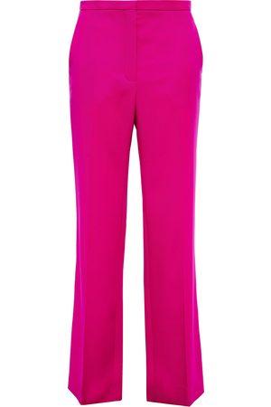 Nina Ricci Woman Wool-twill Straight-leg Pants Fuchsia Size 34