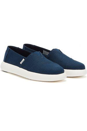 TOMS Women Sports Shoes - Alpargata Mallow Womens Dark Shoes