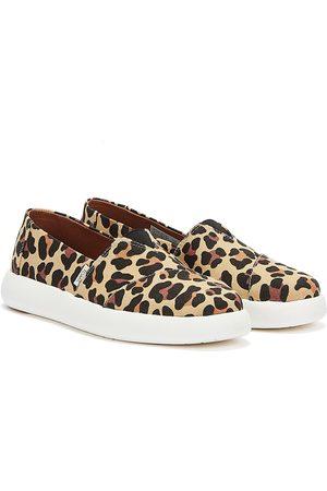 TOMS Alpargata Mallow Womens Leopard Print Shoes