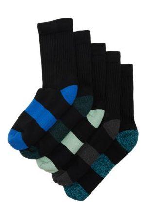 Marks & Spencer Unisex Boys Girls 5pk Cotton Sports Socks - 4-7 - ,