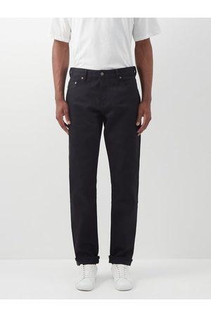 Raey Line Organic Selvedge-denim Slim-leg Jeans - Mens