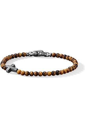 David Yurman Cross station bead bracelet