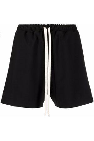 Alchemy Drawstring flared shorts