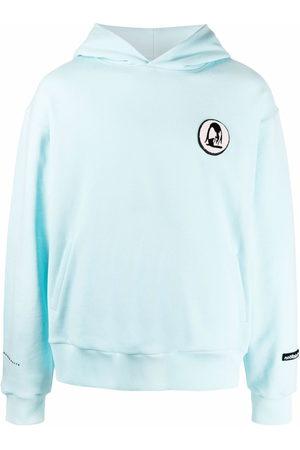 Styland Appliqué-logo cotton hoodie