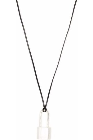 AMBUSH Small padlock-pendant necklace