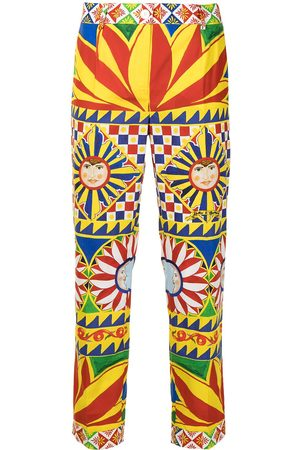 Dolce & Gabbana All-over print trousers