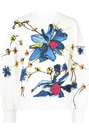 Jason Wu Women Jumpers - Floral-print jumper