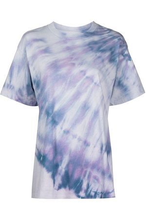 JOHN ELLIOTT Women Short Sleeve - Tie-dye print T-shirt