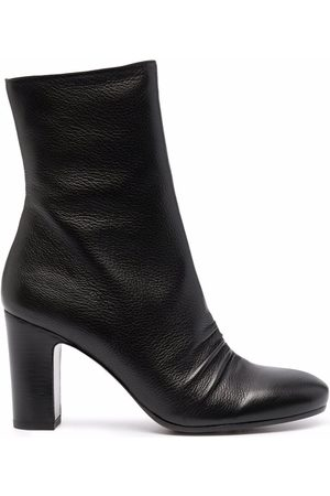 Chie Mihara Pinched leather ankle boots