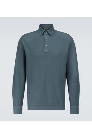 Loro Piana Long-sleeved polo shirt