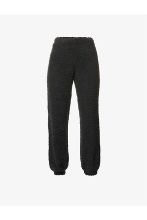 Skims Women Sports Trousers - Cozy tapered high-rise knitted jogging bottoms