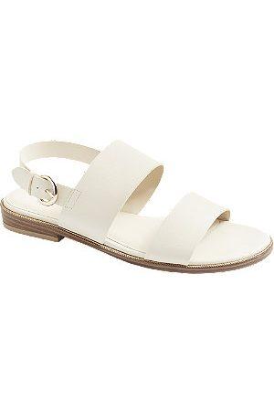 Graceland Women Sandals - Sandals With Gold Details