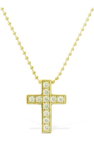 Dsquared2 Jesus Crystal Chain Necklace